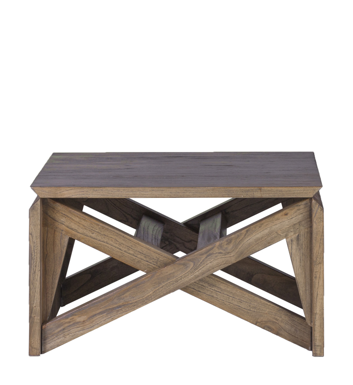 Rustic Convertible Coffee Table Moycor
